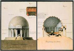 Jean-Jacques Lequeu - 'Temple de la Terre' (c. 1780)