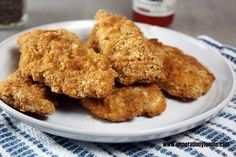 Recipe Representative: Paleo Chicken Fingers
