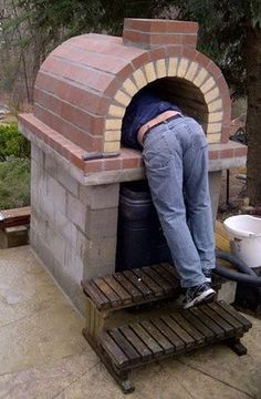 BrickWood Ovens - Tildsley Family Wood Fired Brick Pizza Oven