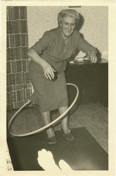 hula hoop granny -- this is SO ME!!!