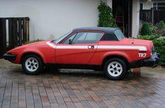 1976 Triumph TR7 - Victoria British LTD. http://www.britishsportscarlife.com/blog/2015/2/21/brett-wilson-his-76-triumph-tr7