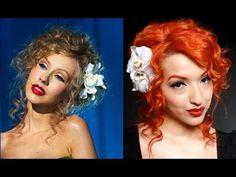 Burlesque Hair Tutorial For my saloon girl costume!