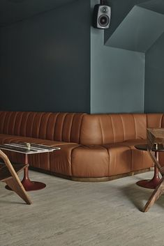 An Atmospheric Bar in Helsinki Channels a Midcentury Milanese Hotel Lounge - Photo 2 of 9 -
