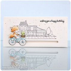SonjaK - The Art of Stamping: Video: Happy Trails - New Release at Purple Onion Designs