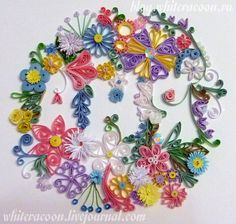 quilling   That's another try to come closer to Yulia Brodskaya talent (the idea ...