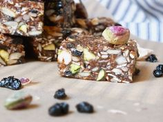 Raw Energy Bars [Raw, Vegan, Gluten-Free, Dairy-Free]