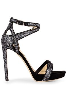 Burak Uyan Salt & Pepper Stiletto Sandal Spring-Summer 2014 #Shoes #Heels