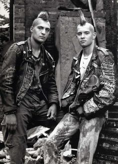 1988 In the '80s and '90s, 25/34 Photographes (Ralf Marsault / Heino Muller) portrayed skinheads, punk and other people living at the margin of society.