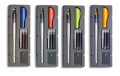 Pilot Parallel Calligraphy Pen Set, 1.5mm, 2.4mm, 3.8mm, & 6.0mm with Bonus Ink Cartridges Pilot http://www.amazon.com/dp/B00HVNBD78/ref=cm_sw_r_pi_dp_909dub1P6XXBH