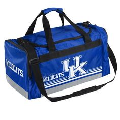 a4c1d30dad Image for Forever Collectibles™ University of Kentucky Medium Striped Core Duffel  Bag from Academy University