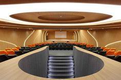 M – Auditorium - Planet 3 Studios Architecture  #telastensionadas #telastranslucidas #iluminação #iluminacaodeinteriores #interiores #decor #interior #decoration #illumination #interiordesign #lighting #LightBox #backlight #frontlight #architecture #arquitetura