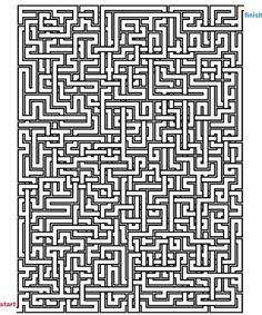 Mazes to Print - Mega Crossover Mazes