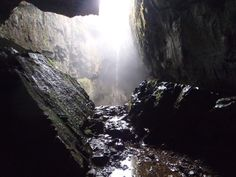 Caving can also provide spectacular views underground