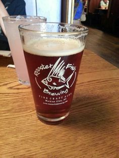 Had a great brew, a Rooster Fish, Hop Warrior at the Wildflower Cafe, part of the Rooster Fish Brew Pub, in Watkins Glen, NY