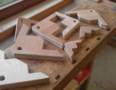 Werkstattausstattung: Winkelträger - Verleimhilfe für rechten Winkel Winkelträger,Verleimhilfe,Verleimhilfe für rechten Winkel,Right-Angle Support
