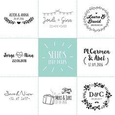 Ahora ya podéis estampar toooda la papelería de vuestra boda con nuestros sellos personalizados  Tarjetas, sobres, minutas, detalles para los invitados ... ¡Y mucho más!  Además también lo reibiréis en formato digital  . ••• .  #bedifferentstudio #sellopersonalizado #sellosdeboda #weddingstamp #stamp #graphicdesigner #sellospersonalizados #sellos