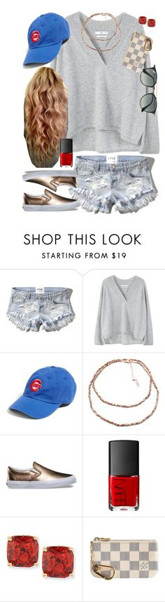 """cubz"" by mcc782002 ❤ liked on Polyvore featuring Abercrombie & Fitch, MANGO, American Needle, Child Of Wild, Vans, NARS Cosmetics, Kate Spade, Louis Vuitton and Ray-Ban"