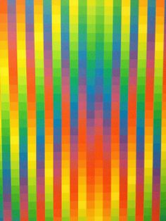Richard Paul Lohse painting - Dynamo Exhibition at the Grand Palais, Paris, France | Flickr - Photo Sharing!