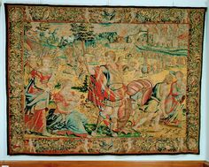 Die Einäscherung des Schlosses von Pondá Medieval Manuscript, Renaissance, Vintage World Maps, Rugs, Decor, Farmhouse Rugs, Decoration, Decorating, Rug