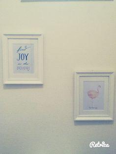 DAY 87 : Et les toilettes se transforment en galerie d'art. Oh Yeah.  #Deco #HOmeSweetHOme #BobLeBricoleur