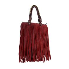Tilly Faux Fringe Purse