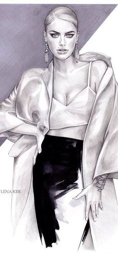 Fashion Illustration | House of Beccaria~
