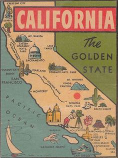 the Golden State.