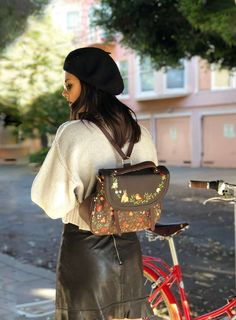 Nature Friends Backpack Purse – Bike Pretty Large Bags, Small Bags, Medium Sized Bags, Monochrome Outfit, Formal Looks, Cute Purses, Mori Girl, Backpack Purse, Casual Bags