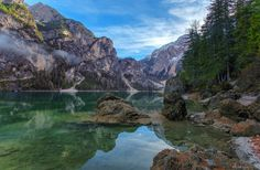 """The reflections of Lake Braies - """"Un Passo dal cielo"""" The reflections of Lake Braies © Jarmila"""