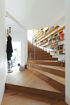 Escaleras con capacidad de almacenaje | Decoratrix | Decoración, diseño e interiorismo