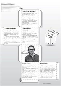 15 CV papier au design original pour booster votre créativité