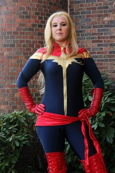 I started this CAPTAIN MARVEL costume in late August and finished in mid-September. It's one of the few commissions I agreed to take this year. I love this design but it contained some elemen…