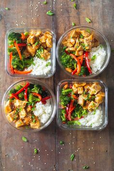 Meal prep doesn't have to be boring . Take a once a week to prep for the week ahead , prepare a menu before you go shopping prep recipes for the week videos Meal prep - teriyaki chicken Easy Healthy Meal Prep, Easy Healthy Recipes, Healthy Cooking, Easy Meals, Delicious Recipes, Meal Prep For The Week Low Carb, Simple Meal Prep, Meal Prep For The Week For Beginners, Meal Prep For Work