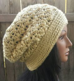 Check out this item in my Etsy shop https://www.etsy.com/listing/248954626/tan-slouchy-hat