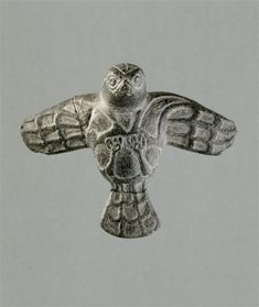 Eagle with outstretched wings, Oriental antiques, Bactria, ca. 2000 BC