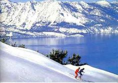 Heavenly Ski Resort! Overlooking the sapphire-blue waters of Lake Tahoe!  You can't get much better! love this area year round!