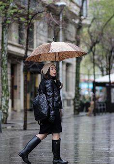 bajo la lluvia, whater boots