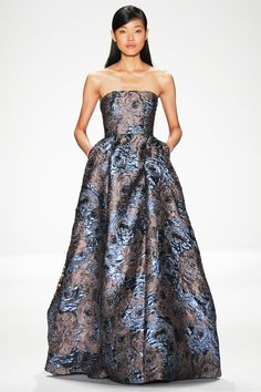 Badgley Mischka fashion collection, autumn/winter 2014