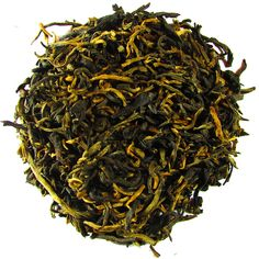 Royal Golden Yunnan – Full Leaf Tea Company  A wonderful Black Tea from China. Long golden tipped leaves steep to a smooth cup! Rich in aroma and excellent in taste! Exquisite!