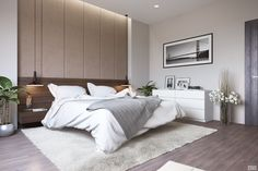 Pretty simple bedroom inspiration design trends interior modern room decor home decorating ideas cheap discover the Simple Bedroom Decor, Modern Master Bedroom, Decoration Bedroom, Modern Bedroom Design, Master Bedroom Design, Contemporary Bedroom, Modern Room, Home Decor Bedroom, Bedroom Designs