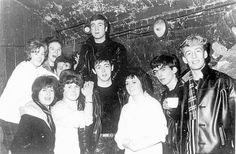 "The Beatles!  (at the ""Cavern Club""). Liverpool, Inglaterra.          *****Murilo Vidal."