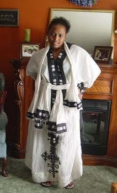 Traditional clothing from Ethiopia