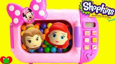 Minnie Mouse Magical Microwave with Disney Princess and Shopkins Surprises