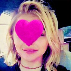 Gif  Chloë Grace Moretz' films are: The Amityville Horror (2005), The Poker House (2008), (500) Days of Summer (2009), Diary of a Wimpy Kid (2010), Let Me In (2010), Kick-Ass (2010), Hick (2011), Hugo (2011), Dark Shadows (2012), Kick-Ass 2 (2013), Carrie (2013), If I Stay (2014), The Equalizer (2014), The 5th Wave (2016), Neighbors 2: Sorority Rising (2016), November Criminals (2017), The Miseducation of Cameron Post	(2018), Suspiria (2018), Red Shoes & the 7 Dwarfs (2018), & The Widow…