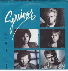 "Survivor / Is This Love / Can't Let You Go / 7"" Vinyl 45 RPM Record & Picture Sleeve #Survivor #JimiJamison #Music"