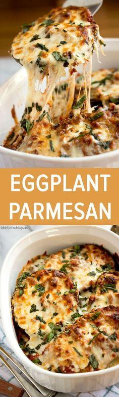Eggplant Parmesan Recipe / Buzz Inspired