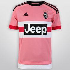 Con el Jersey Infantil Adidas Juventus Visita 15/16 S/N°, tus pequeños podrán lucir con orgullo su afición por el actual campeón del Calcio.