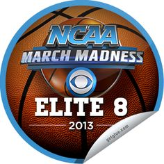 I just unlocked the 2013 NCAA Elite 8 sticker on GetGlue                      562 others have also unlocked the 2013 NCAA Elite 8 sticker on GetGlue.com                  And then there were 8. Youre watching the 2013 NCAA Elite 8 run up and down the court. Make sure to keep watching as we get closer to the championship! Share this one proudly. Its from our friends at Turner Sports  CBS Sports.