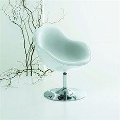 fauteuil design pivotant pied tulipe newark