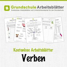 Kostenlose Arbeitsblätter und Unterrichtsmaterial für den Deutsch-Unterricht zum Thema Verben in der Grundschule.